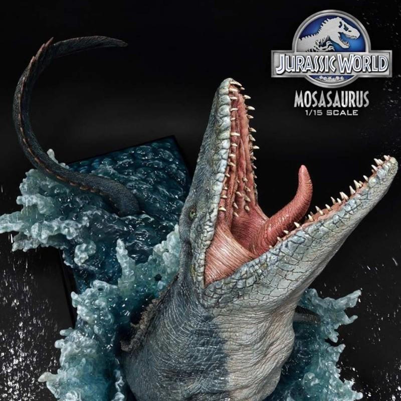 Mosasaurus - Jurassic World - 1/15 Scale Polystone Statue