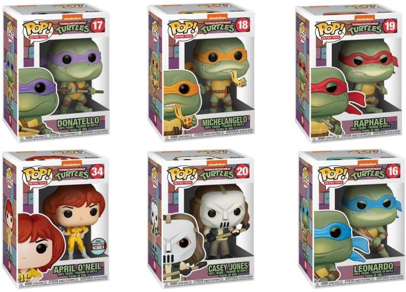 Teenage Mutant Ninja Turtles - POP! Retro Toys (Hunter Set)