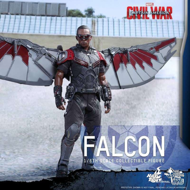 Falcon - Civil War - 1/6 Scale Action Figur