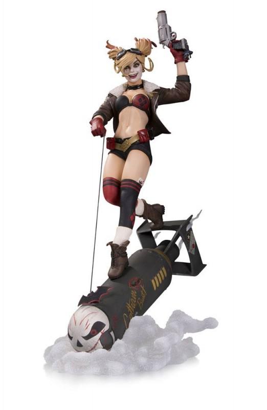 Harley Quinn - Bombshells Deluxe Statue 37cm