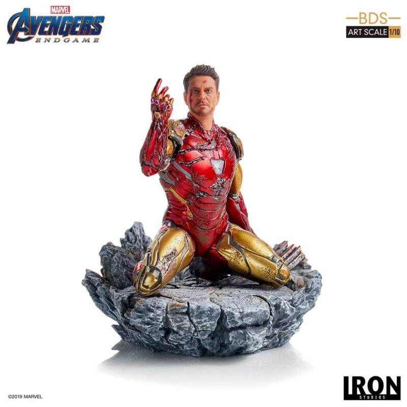 I am Iron Man - Avengers: Endgame - BDS Art 1/10 Scale Statue