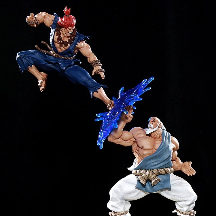 Gouken vs Akuma Diorama - Street Fighter