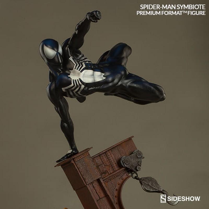 Spider-Man Symbiote Costume - Premium Format Statue