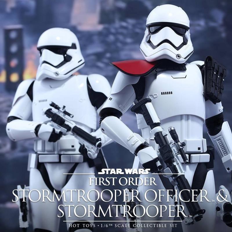 First Order Stormtrooper Officer und Trooper - Star Wars - 1/6 Scale Figuren Set