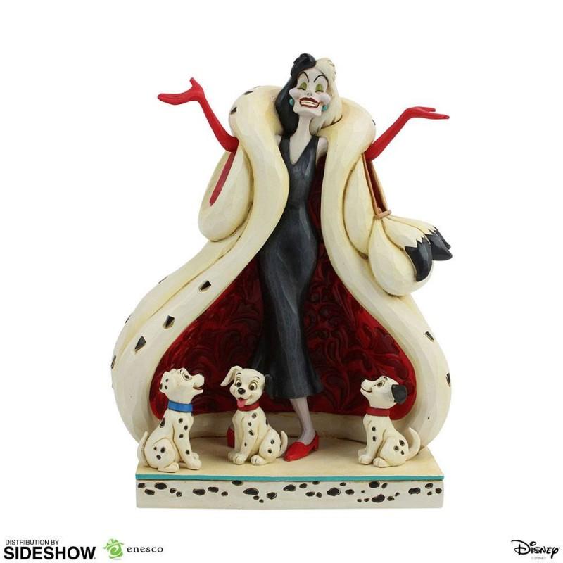 Cruella De Vil - 101 Dalmatiner - Resin Statue