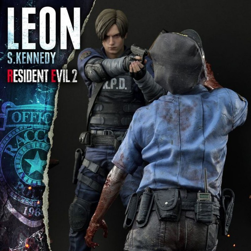 Leon S. Kennedy - Resident Evil 2 - 1/4 Scale Polystone Statue