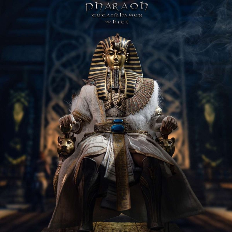 Pharaoh Tutankhamun White Version - 1/6 Scale Actionfigur