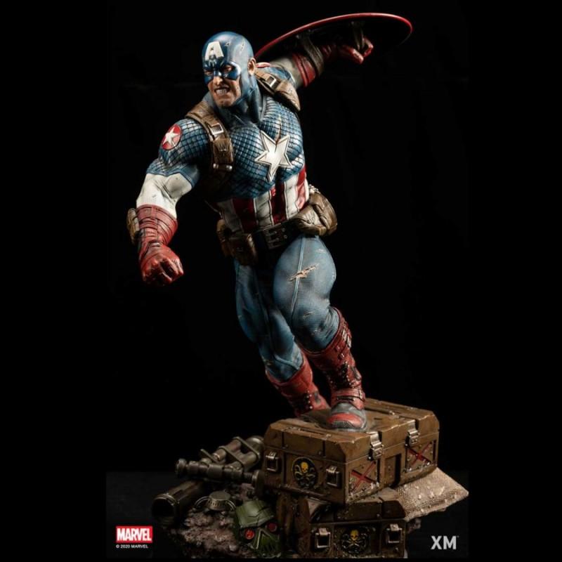 Ultimate Captain America Version A - Marvel Comics - 1/4 Scale Premium Statue