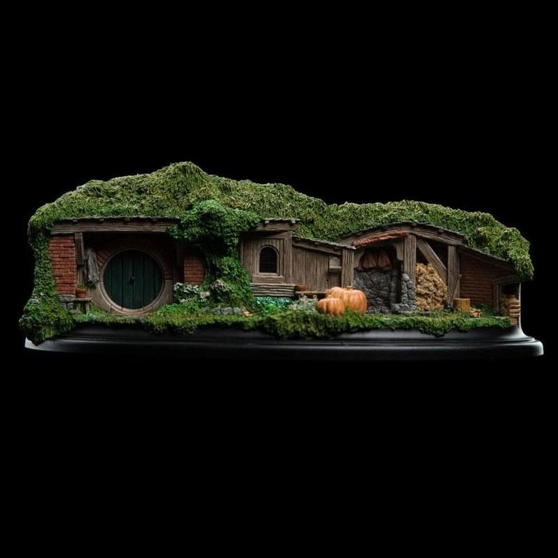 Hobbit Hole 19 & 20 - Der Hobbit - Polystone Statue 20cm