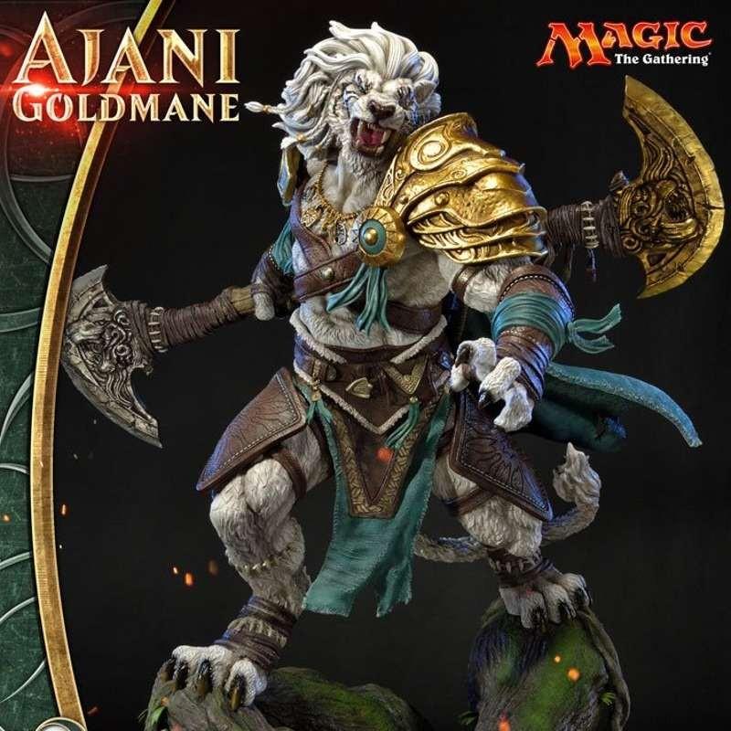 Ajani Goldmane - Magic The Gathering - Premium Masterline Statue