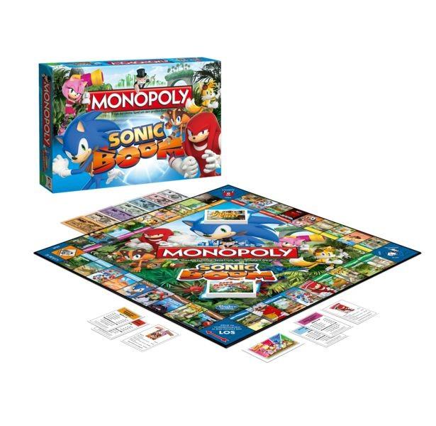 Sonic Boom - Monopoly - Brettspiel