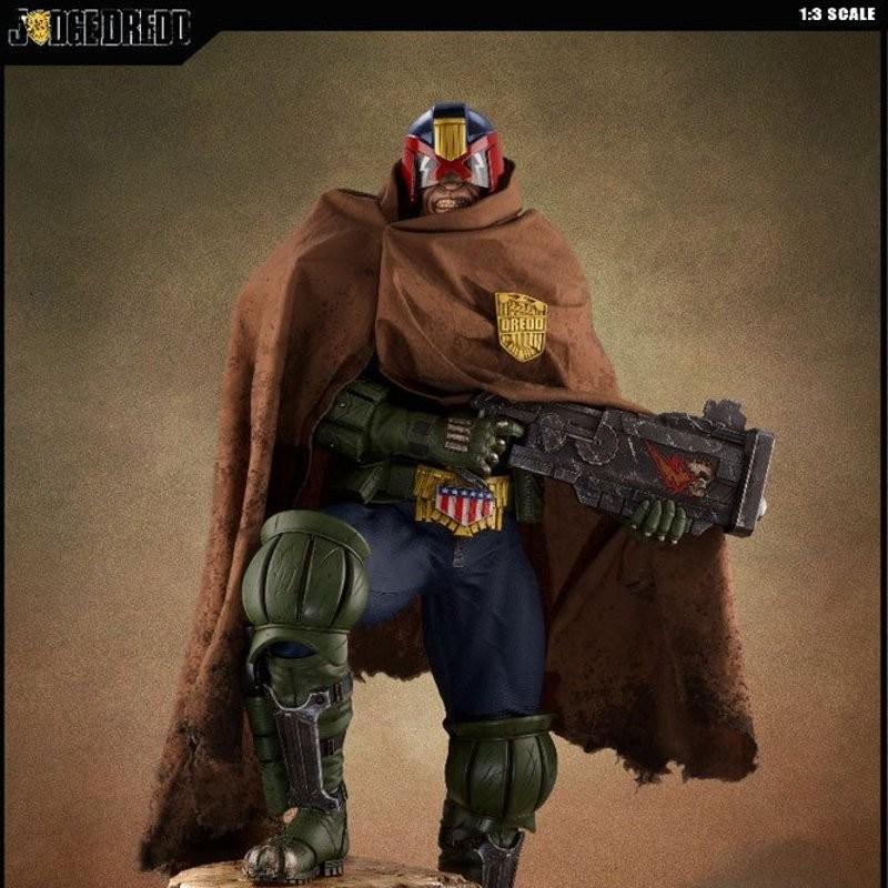 Judge Dredd PCS Cursed Earth Exclusive - 2000 AD - 1/3 Scale Statue