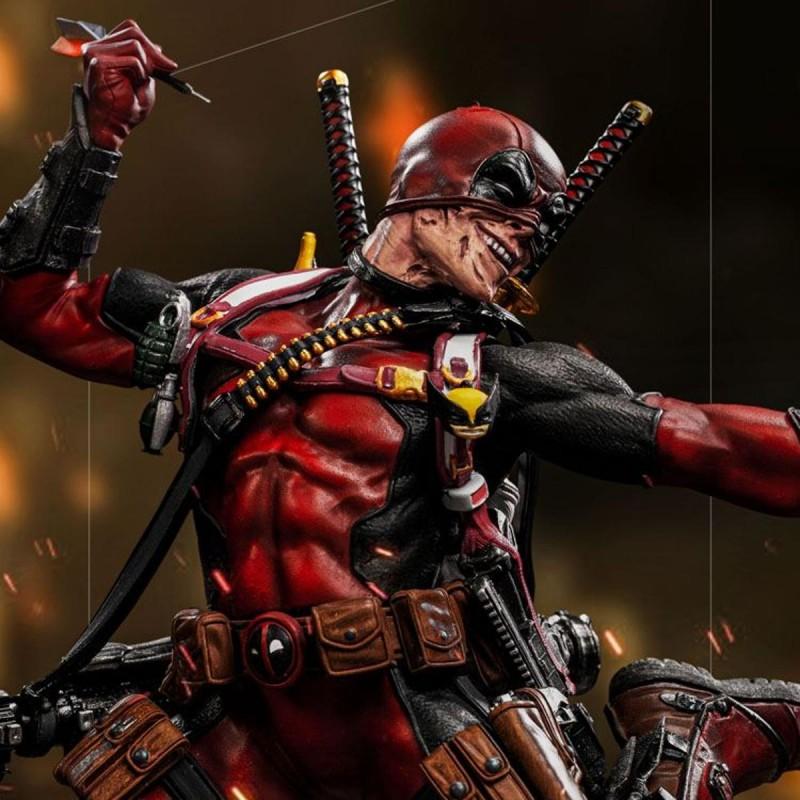 Deadpool - Marvel - 1/10 Deluxe BDS Art Scale Statue