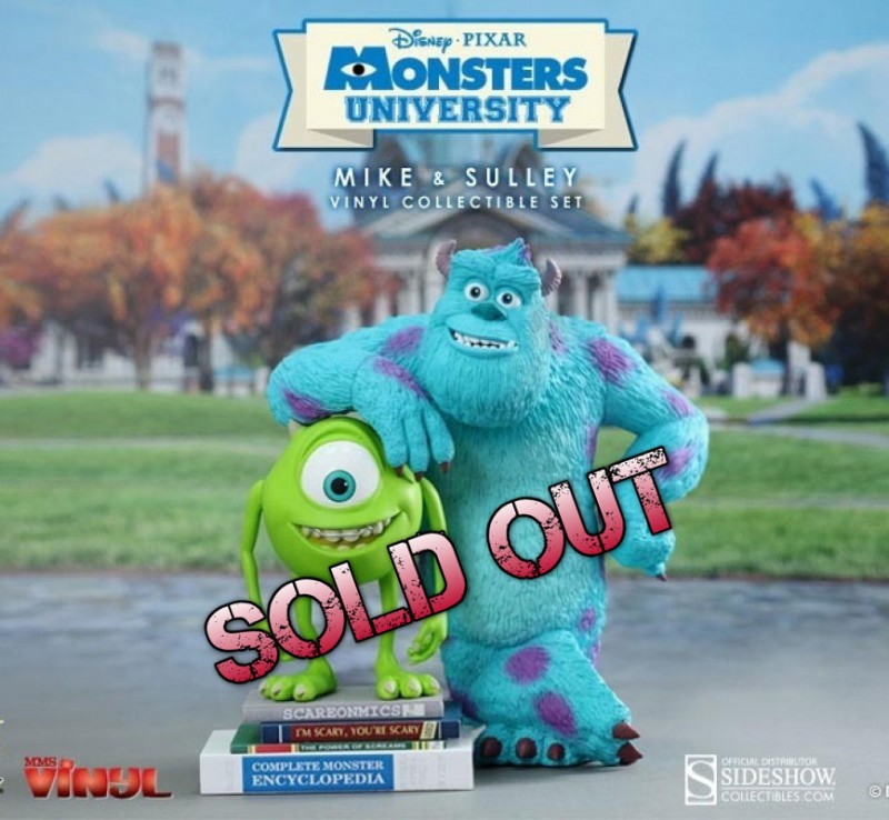 Mike and Sulley - Monster AG - Viny Figur