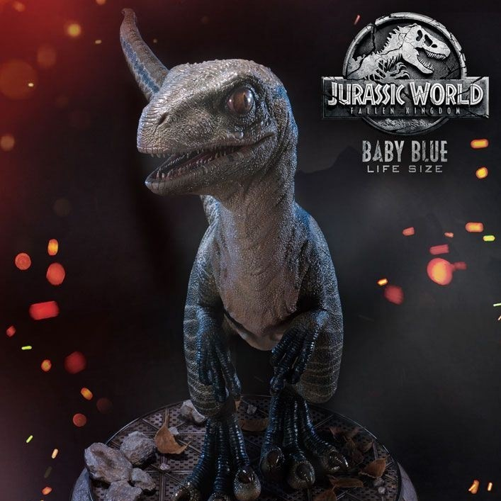 Baby Blue - Jurassic World: Fallen Kingdom - Life-Size Statue