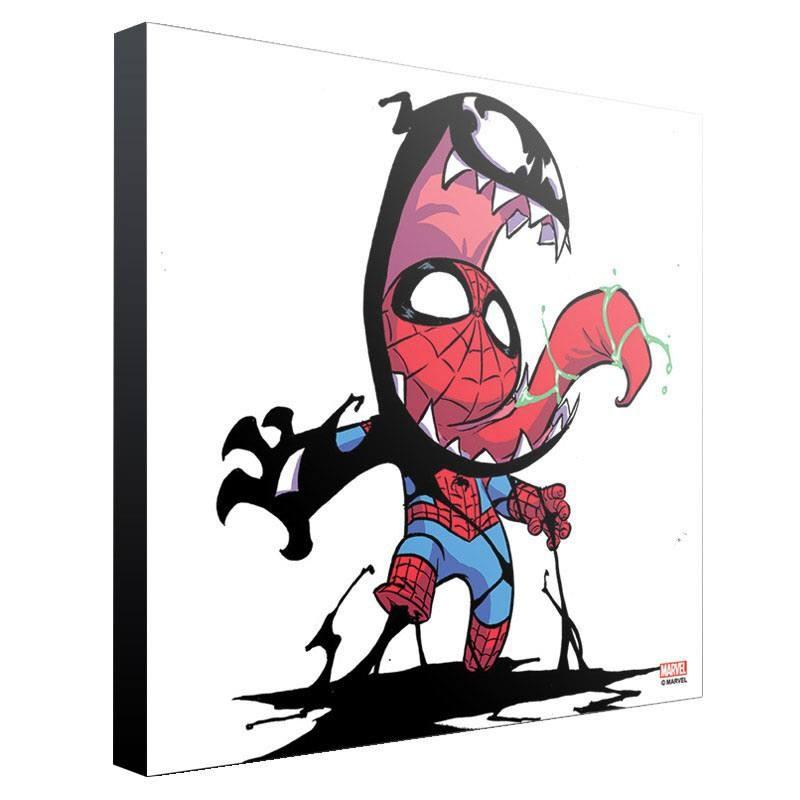 Venom by Skottie Young - Holzdruck 30 x 30 cm