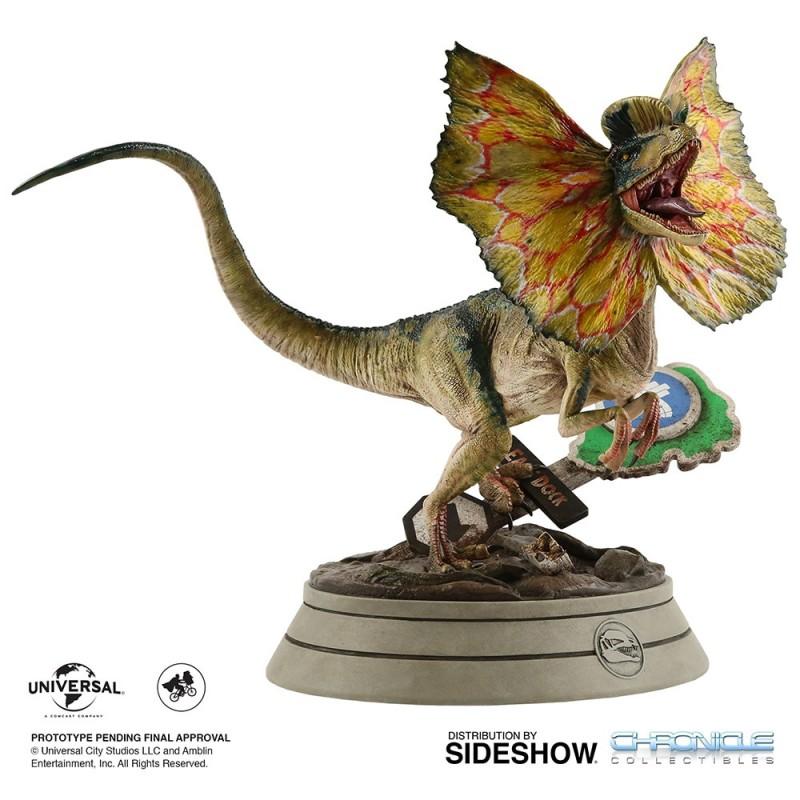Dilophosaurus - Jurassic Park - 1/4 Scale Polystone Statue