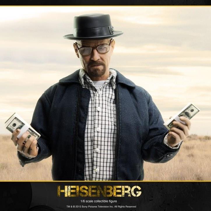 Heisenberg - Breaking Bad - 1/6 Scale Figur