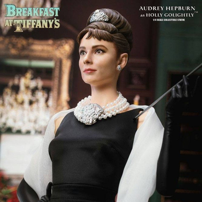 Holly Golightly (Audrey Hepburn) - Frühstück bei Tiffany - 1/4 Scale Statue