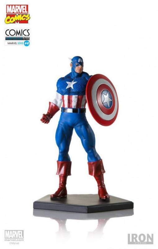 Captain America - Marvel Comics - 1/10 Scale Statue