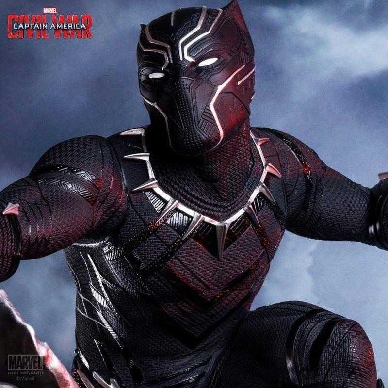 Black Panther - Captain America Civil War - 1/4 Scale Statue