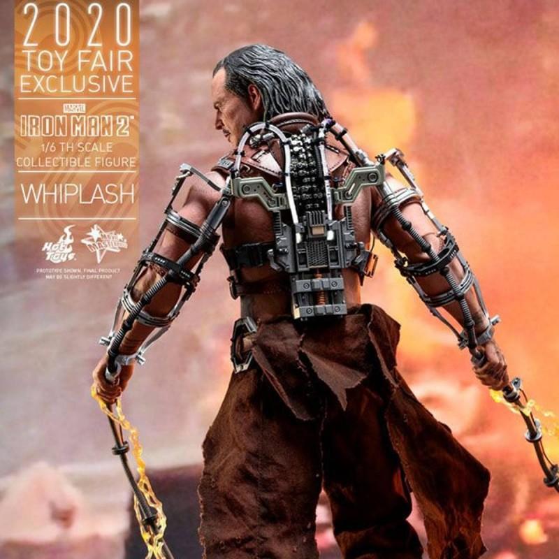 Whiplash - Iron Man 2 - 1/6 Scale Figur