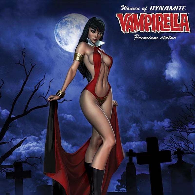 Vampirella - Women of Dynamite - Resin Statue
