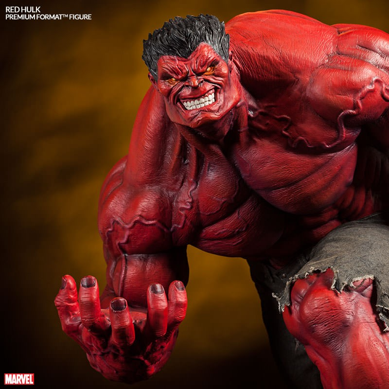 Red Hulk - Premium Format Statue