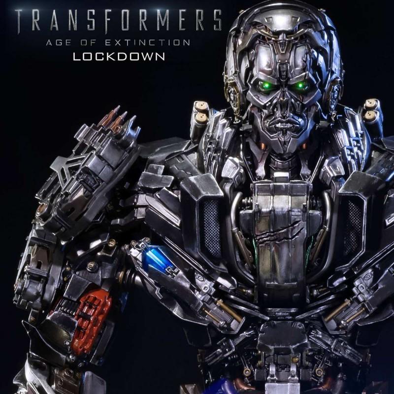 Lockdown Exclusive Version - Transformers Ära des Untergangs - Polystone Statue