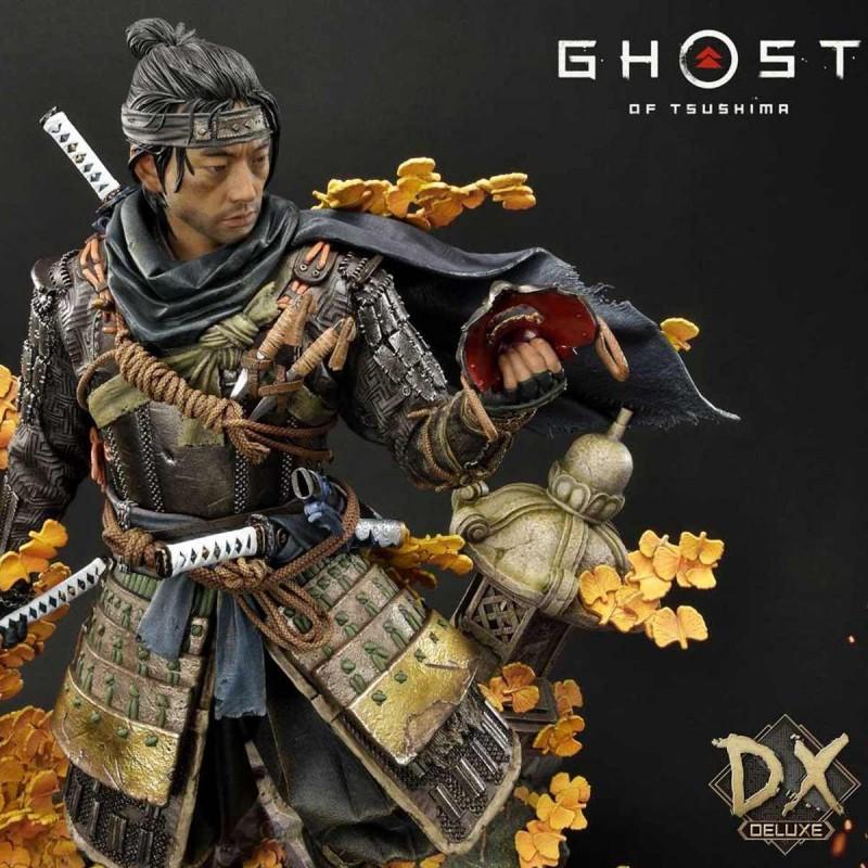 Jin Sakai (Deluxe Bonus Version) - Ghost of Tsushima - 1/4 Scale Polystone Statue