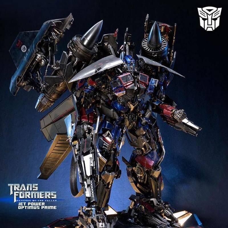 Jetpower Optimus Prime - Transformers Die Rache - Polystone Statue