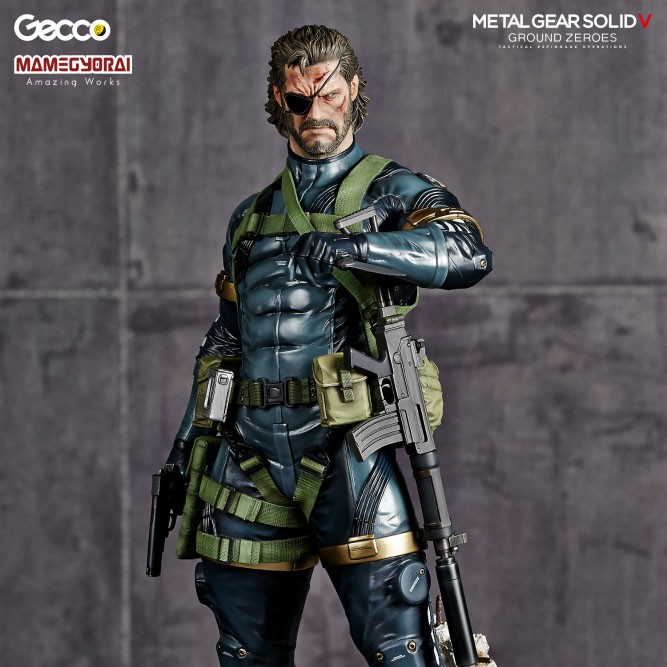 Snake - Metal Gear Solid V - 1/6 Scale PVC Statue