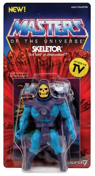 Skeletor - Masters of the Universe - Vintage Collection Actionfigur 14cm