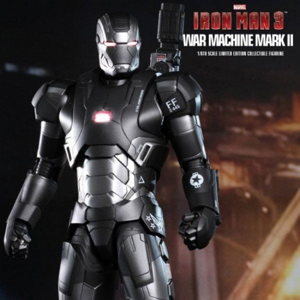 War Machine Mark II - Iron Man 3 - Diecast 1/6 Scale Figur