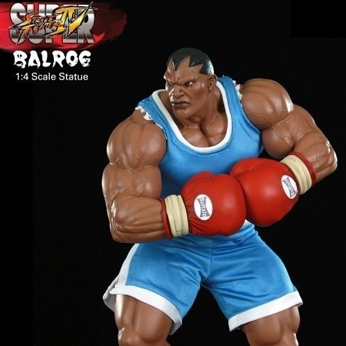 Balrog - Street Fighter - 1/4 Scale Statue