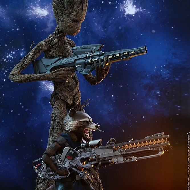 Groot & Rocket - Avengers Infinity War - 1/6 Scale Figuren Set