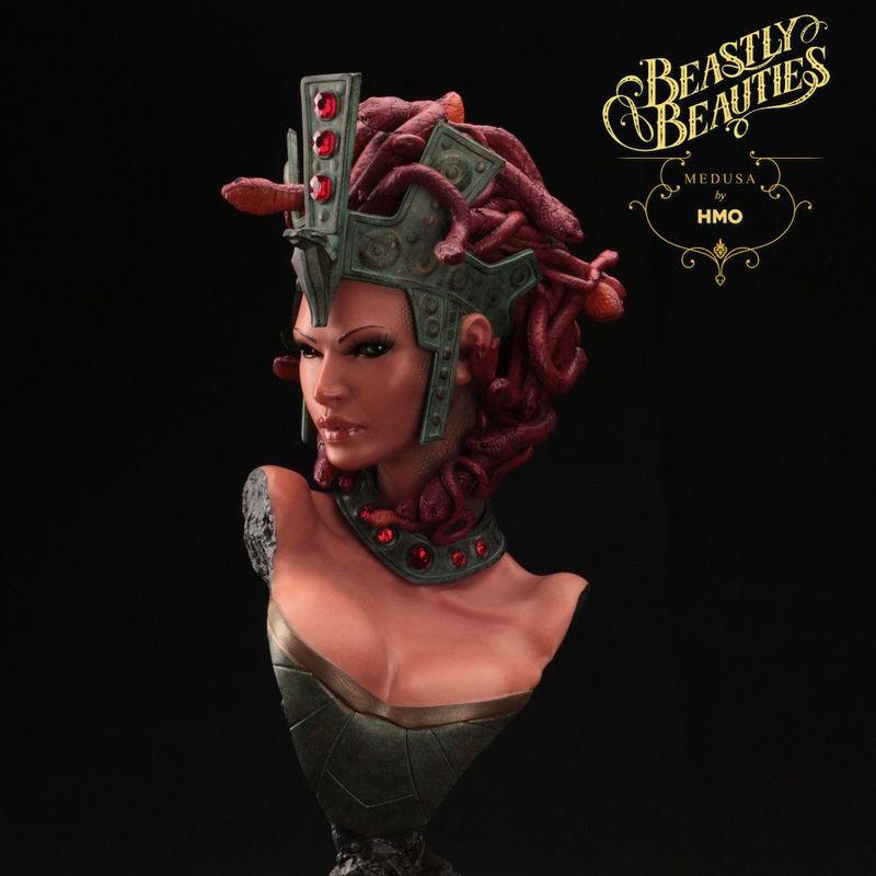Medusa - Beastly Beauties - 1/2 Scale Büste