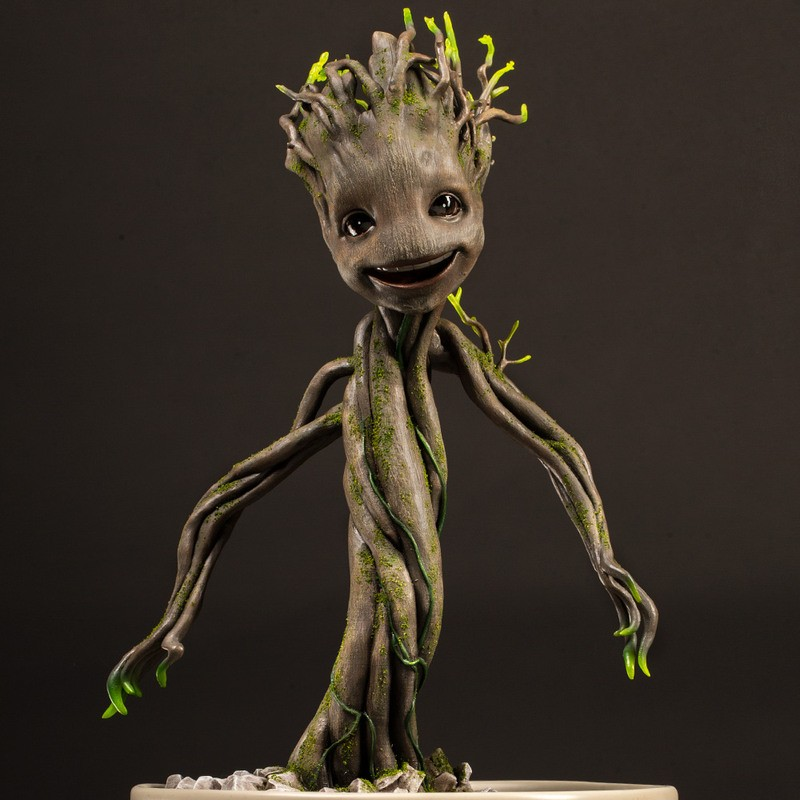 Dancing Groot - Guardians of the Galaxy - 1:1 Maquette