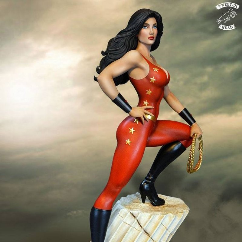 Donna Troy - Super Powers Collection - Maquette 34cm