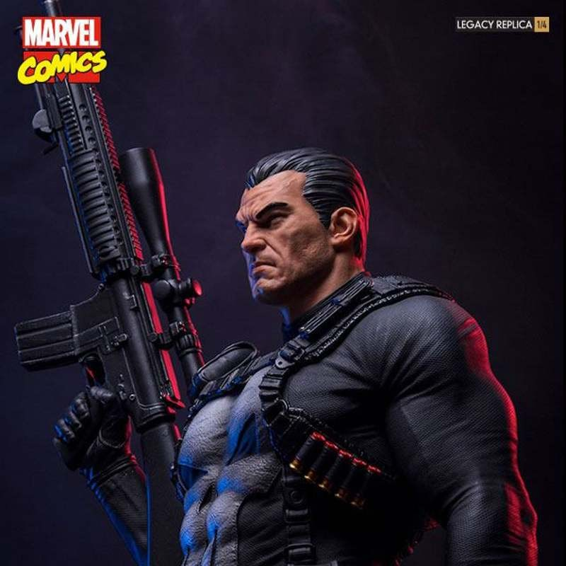 Punisher - Marvel Comics - 1/4 Scale Legacy Replica Statue