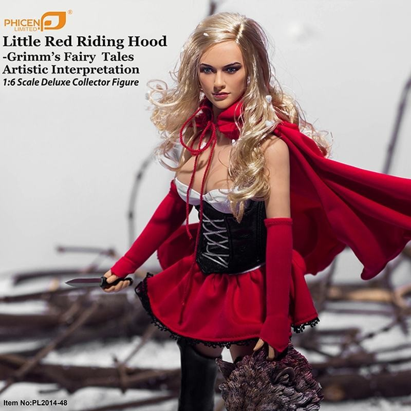 Little Red Riding Hood - Grimm Fairy Tales - 1/6 Scale Figur