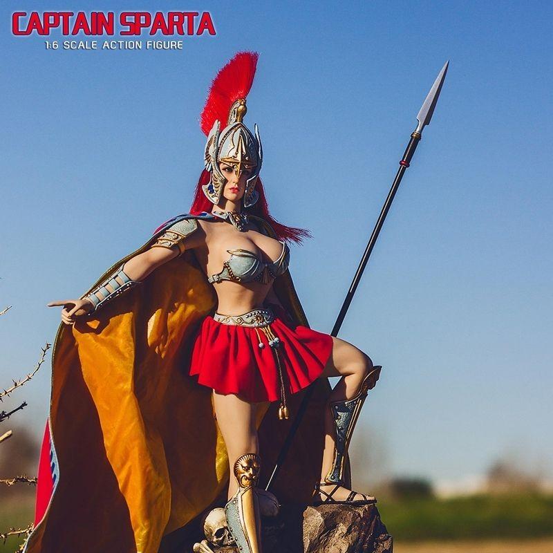 Captain Sparta - 1/6 Scale Actionfigur