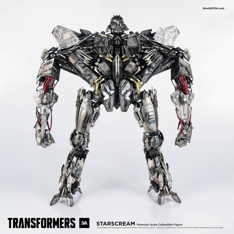 Starscream - Transformers - 1/6 Scale Action Figur