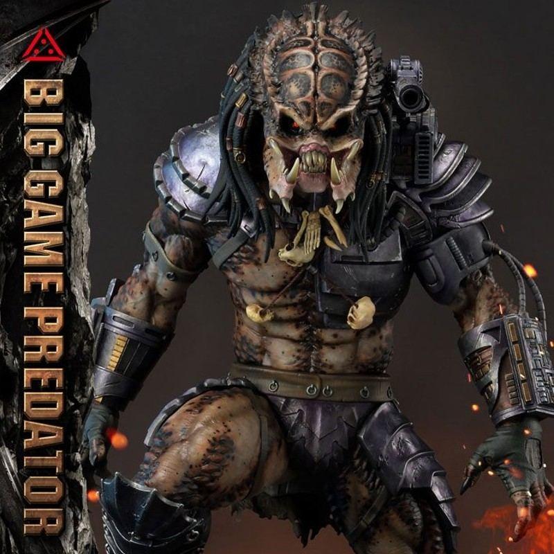 Big Game Predator - Predator - 1/4 Scale Polystone Statue