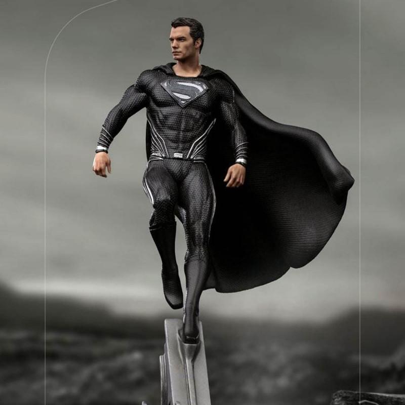 Superman Black Suit - Zack Snyder's Justice League - 1/10 Art Scale Statue