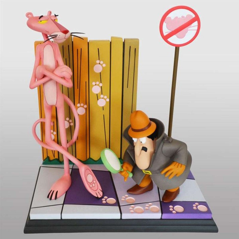 Pink Panther & The Inspector - Der rosarote Panther - Polystone Statue