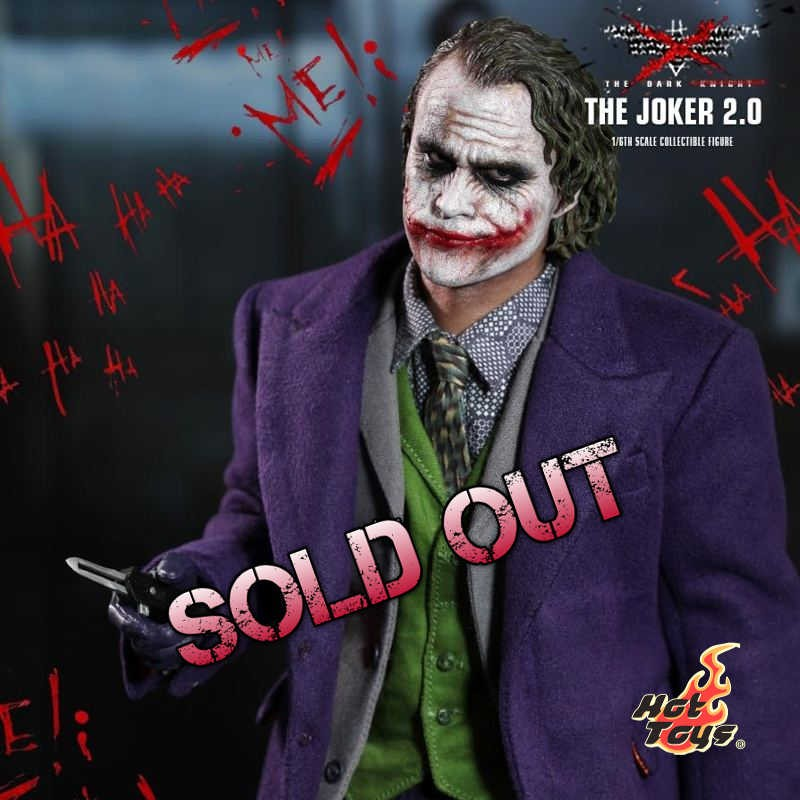 The Joker 2.0 - Batman (The Dark Knight) - 1/6 Scale Figur