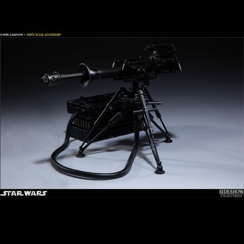 E-Web Heavy Repeating Blaster - Star Wars - 1/6 Scale