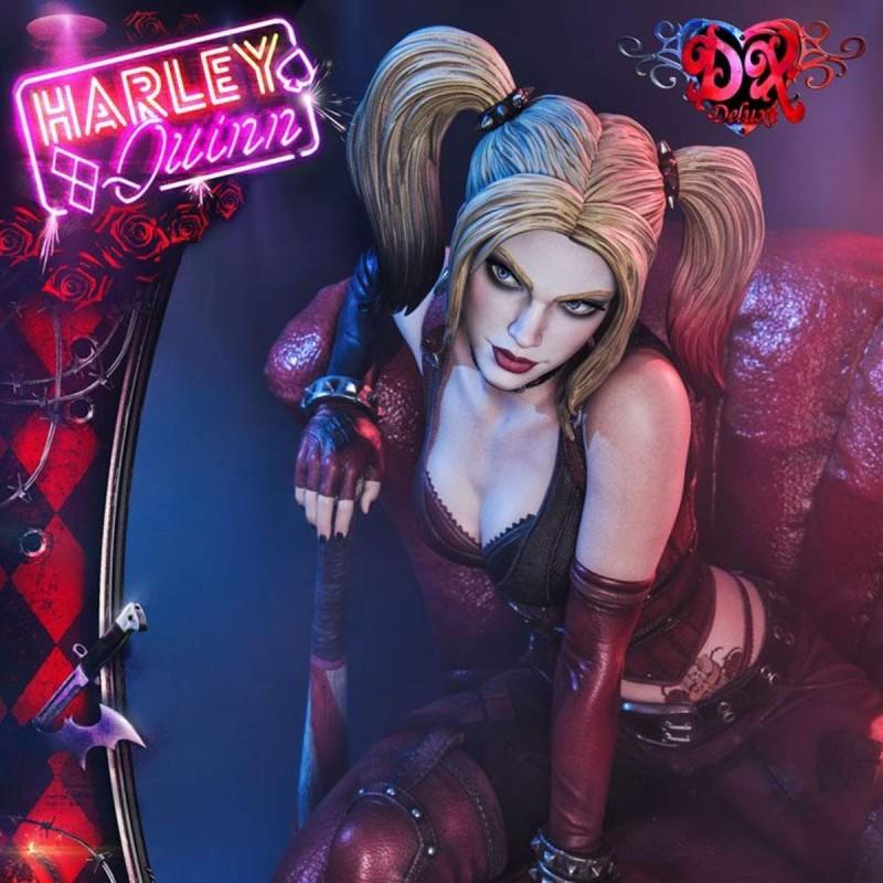 Harley Quinn (Deluxe Bonus Version) - Batman Arkham City - 1/3 Scale Statue