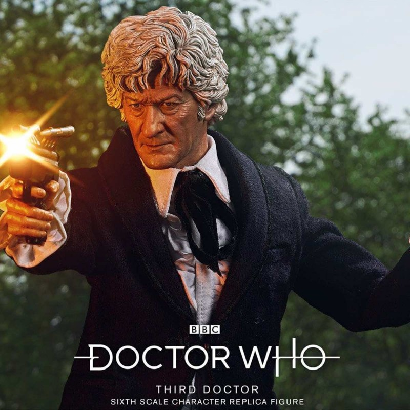 3rd Doctor (Jon Pertwee) Limited Edition - Doctor Who - 1/6 Scale Figur